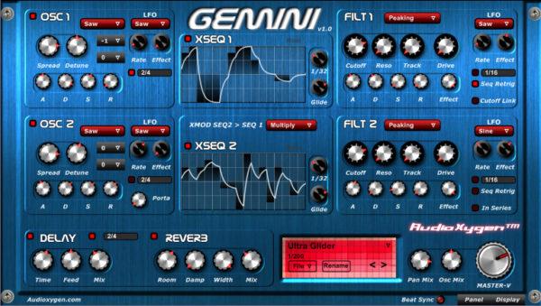 Плагин FL Studio: Audioxygen Gemini