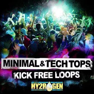 Minimal & Tech Tops – Kick Free Loops часть 2