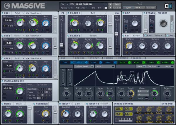 Плагин FL Studio: Native Instruments Massive