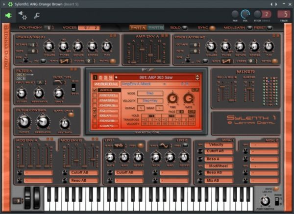 Плагин FL Studio: Lennar Digital Sylenth1 VSTi