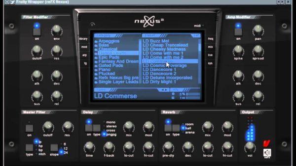 Nexus fl studio плагин