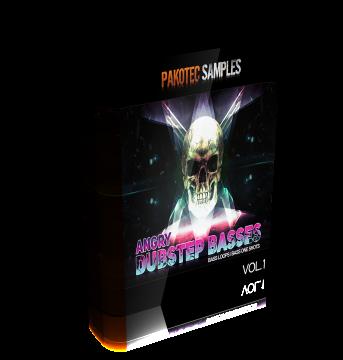 Сэмплы Pakotec — Angry Dubstep Basses Vol.1