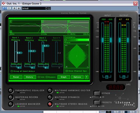 Плагин FL Studio: iZotope Ozone