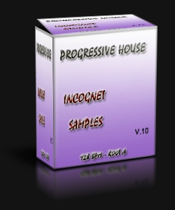 Progressive House Incognet v.10 – Сэмплы