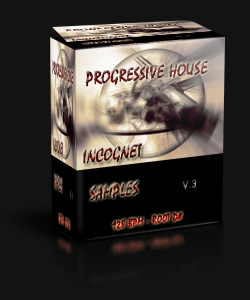 Progressive House Incognet v.3 — Сэмплы