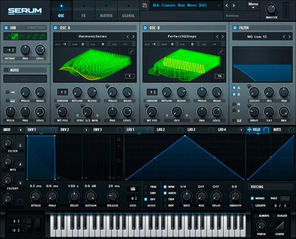 Serum синтезатор для fl studio