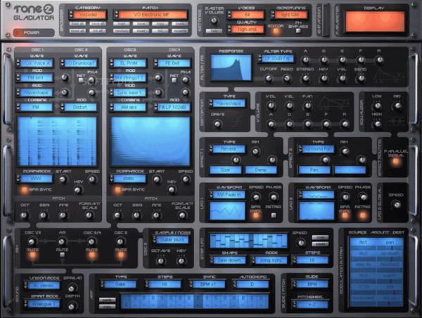 VSTi плагин Gladiator 2.2 синтезатор для Fl Studio